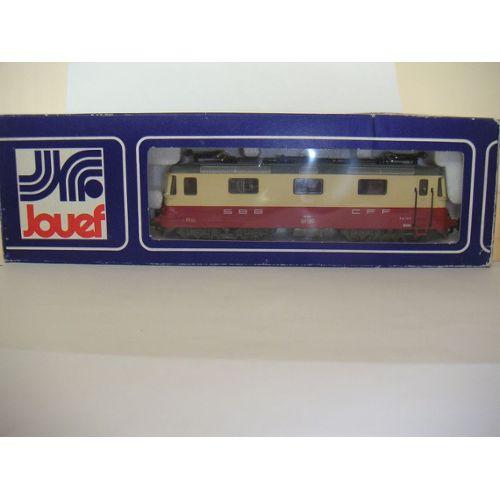 Jouef 8857 Locomotive Bb Re 4/4 Ii Cff Jouef Neuf et d'occasion
