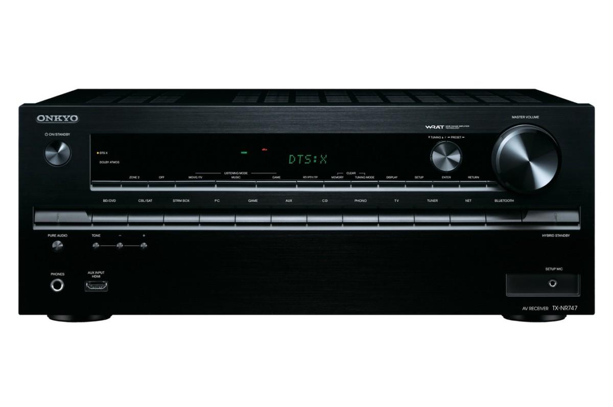 Ampli Home Cinéma Onkyo TXNR747 BLACK (4157460) |