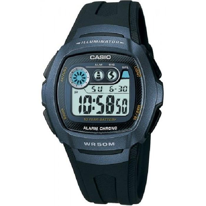 Montre Casio Collection W 210 1BVEF Noir, Sport Achat/vente montre