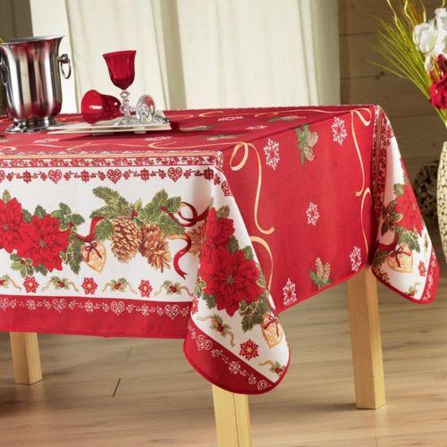 Noël rouge pas cher Achat / Vente Nappes RueDuCommerce