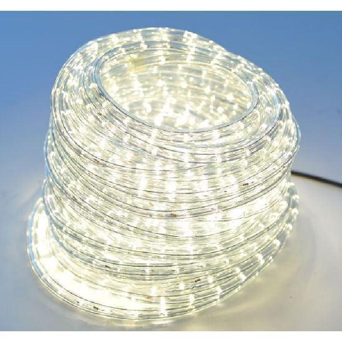 guirlande tube lumineux blanc chaud 20m Achat / Vente guirlande d