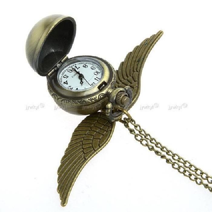 Harry Potter Montre de Poche Bronze Pendentif / Steampunk Quidditch