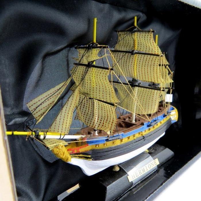 Maquette bateau «L'Hermione» Achat / Vente bateau sous marin