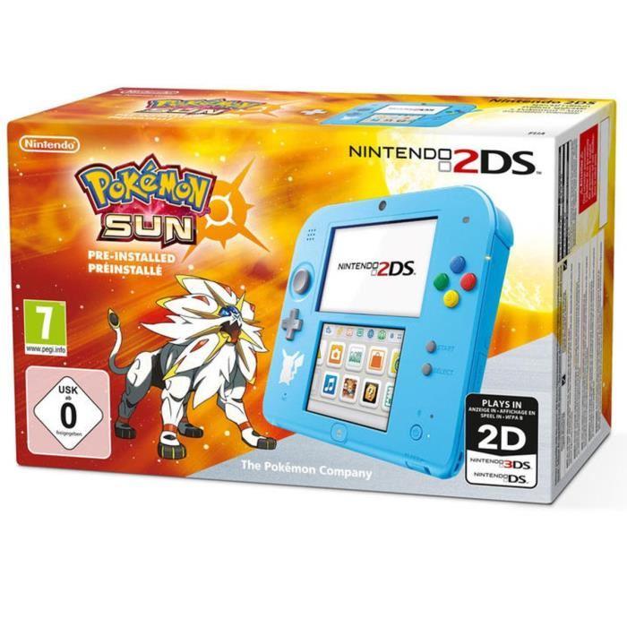 Achat / Vente console 2ds 2DS Bleue Pokémon Soleil