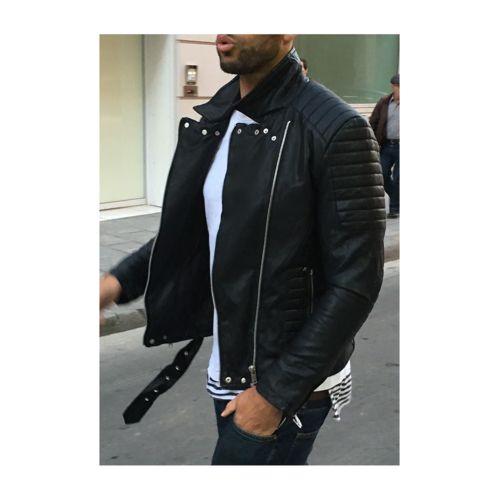 Veste en faux cuir homme pas cher