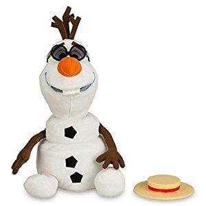Disney Poupée chantante Olaf de La Reine des Neiges: Jeux