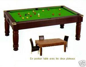 billard Table de Style *** 8 pool anglais