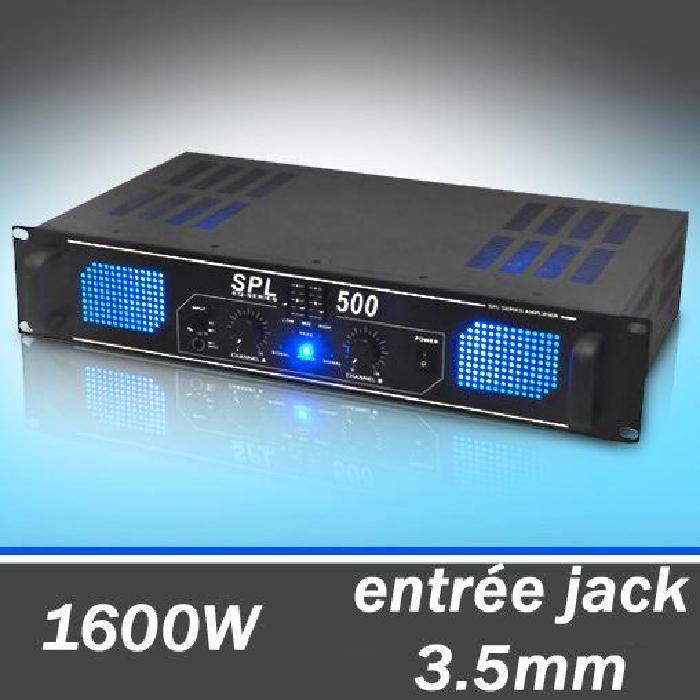 ampli DJ 1600W home cinema egaliseur sono Amplificateur DJ PA bon