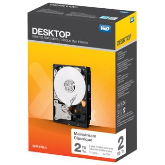 Disque Dur WD Desktop, 2 To Disque dur de bureau Achat sur Fnac