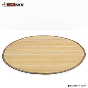 Tapis en bambou paillasson Plancher de tapis Tapis de sol Natte de