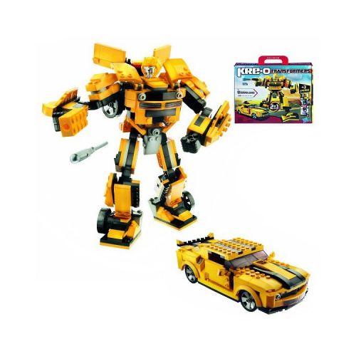 Kre O Robot et voiture à construire Bumblebee : 335 pièces