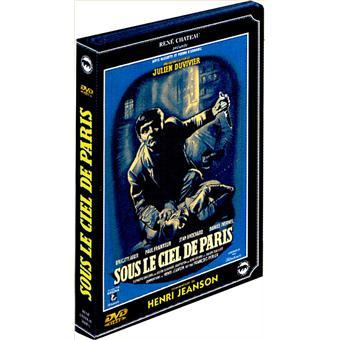 Sous le ciel de Paris DVD Zone 2 Julien Duvivier Brigitte Auber
