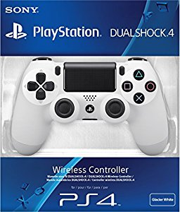 Manette PS4 Dual Shock 4 blanche: Sony Playstation 4