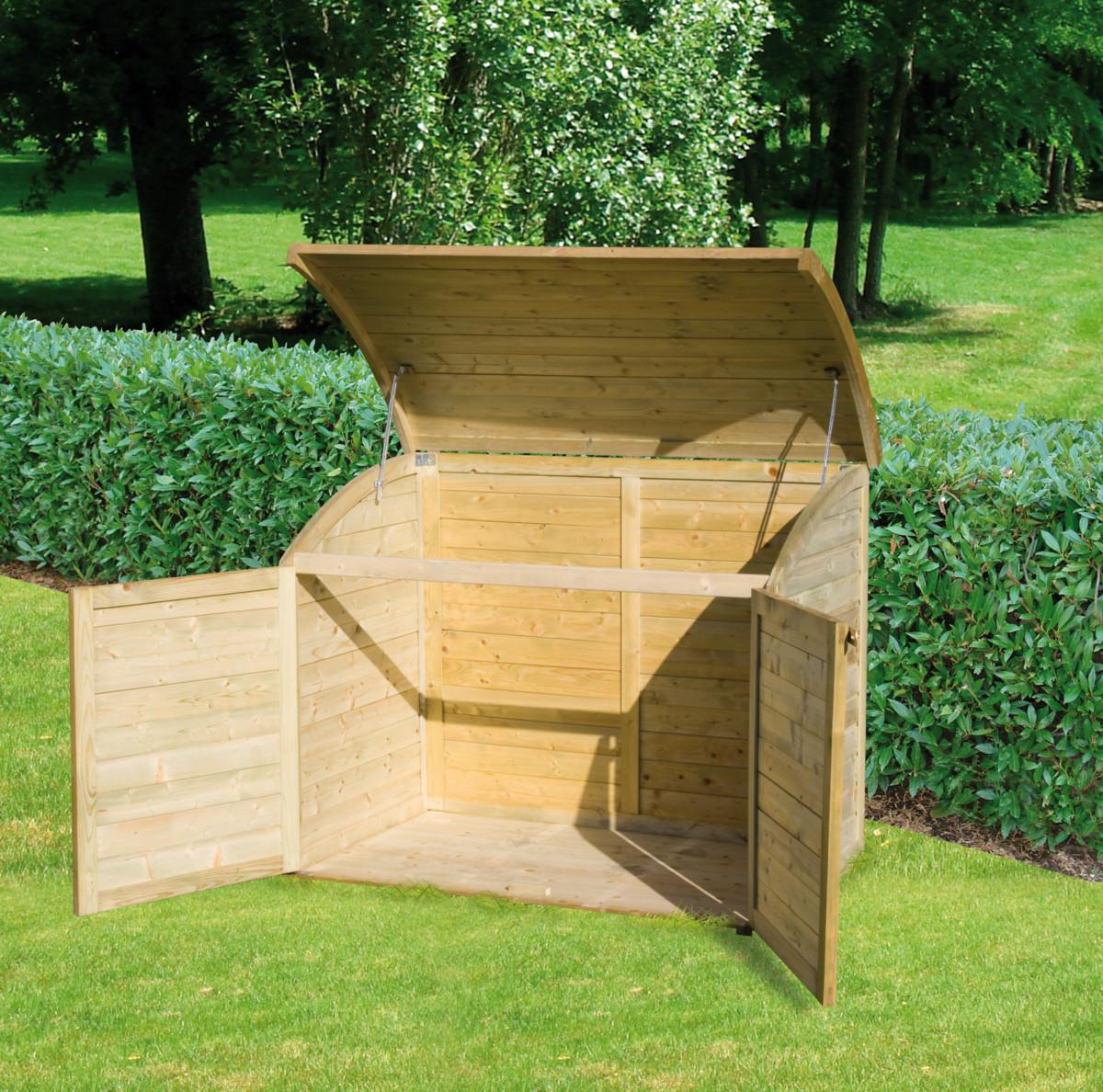 coffre de jardin topiwall. Black Bedroom Furniture Sets. Home Design Ideas
