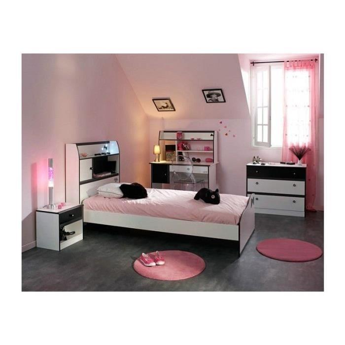 Vente chambre complète Chambre Fille 4 pièces avec