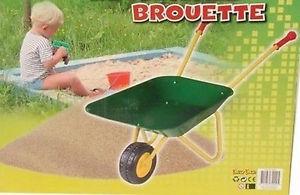BROUETTE JOUET LUXE ENFANT METAL JARDINIER JOUET JEU