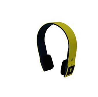 Halterrego Casque H.Ear Bluetooth Bleu/Jaune avec Micro Casque audio