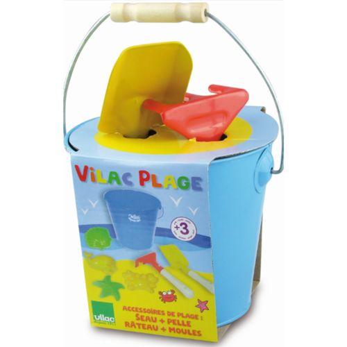 Vilac Mes petits outils de plage pas cher Achat / Vente Frisbees