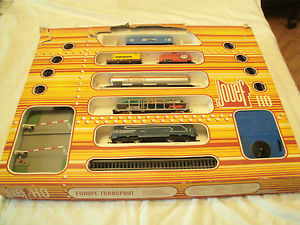 rare coffret train electrique jouef ho europe transport