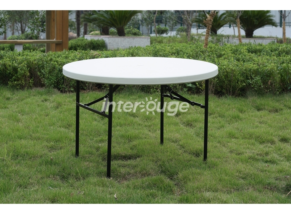 Table De Jardin Pliante Ronde Topiwall