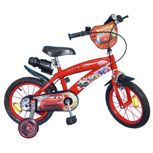 Disney Velo 14 » Garcon Licence Cars Rouge pas cher Achat   Vente 504619fa4f32