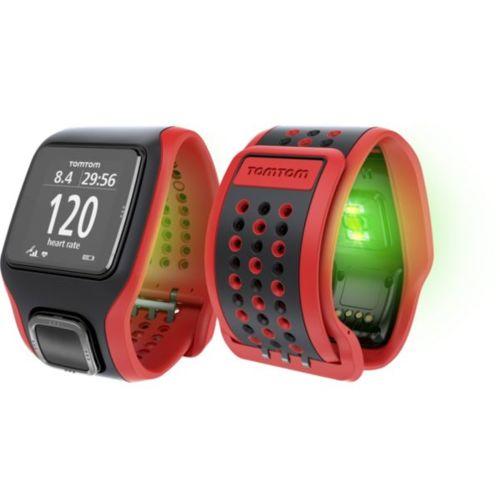 TomTom Runner Cardio Rouge/Noir Cardiofréquencemètres et