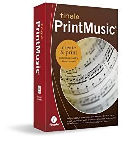 Finale Print Music 2011 Logiciel de partition DVD ROM