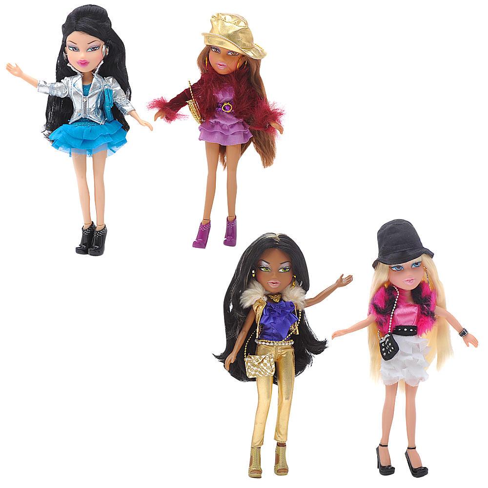 NEW Exclusive Bratz Fashion Stylistz Dolls 4 pack Jade, Yasmin, Cloe