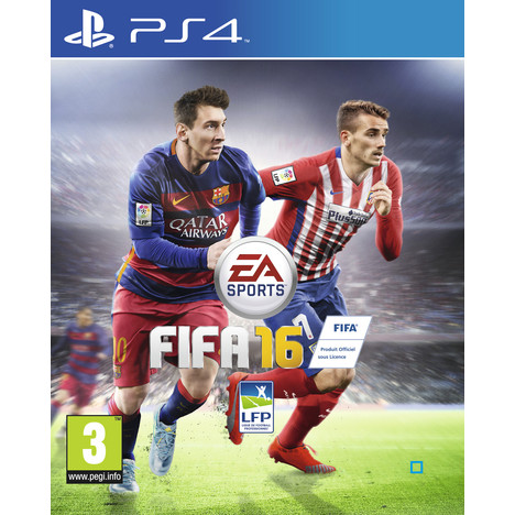 FIFA 16 PS4 pas cher à prix
