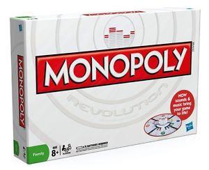 Jeu de societe Monopoly Revolution Hasbro Electronique avec cartes
