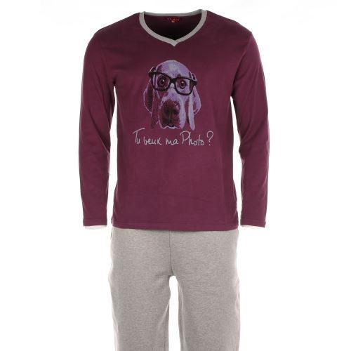 Pyjama chaud Arthur : Tee shirt ROUGE Achat / Vente pyjama