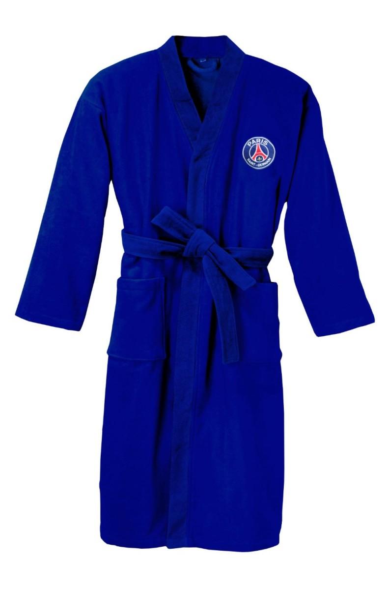 Neuf Peignoir Adulte Coton Paris Saint Germain Taille XL