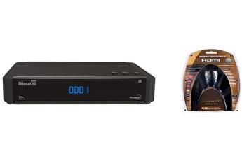 Récepteur TNT par satellite HD CONNECT FRANSAT + CABLE HDMI 4K Meosat