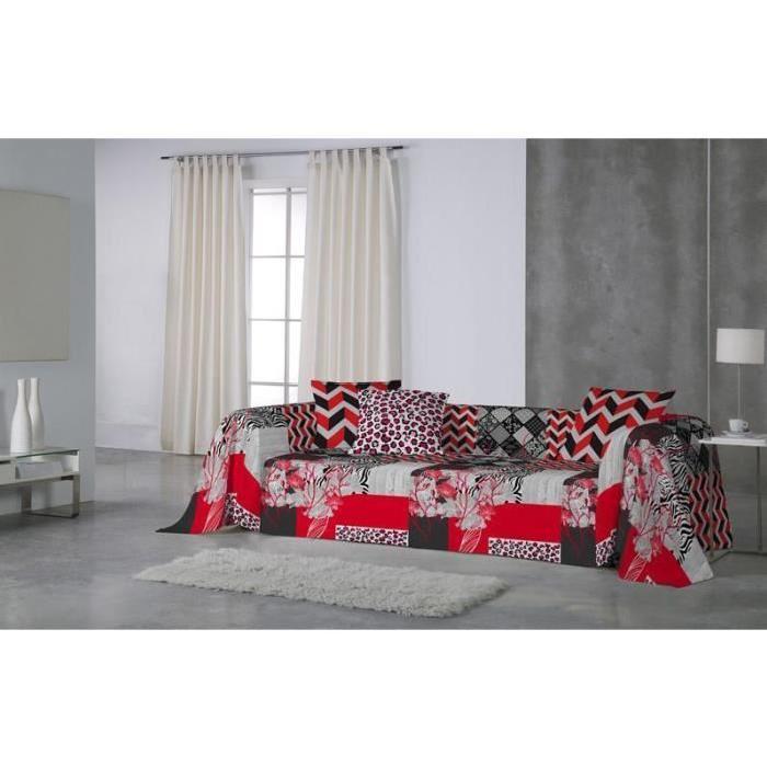 Euromoda. Jeté de canapé, couvre lit Kalahan 180×260