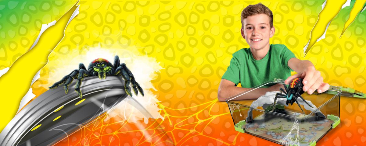 WILD PETS Terrarium + Araignée Achat / Vente robot animal animé