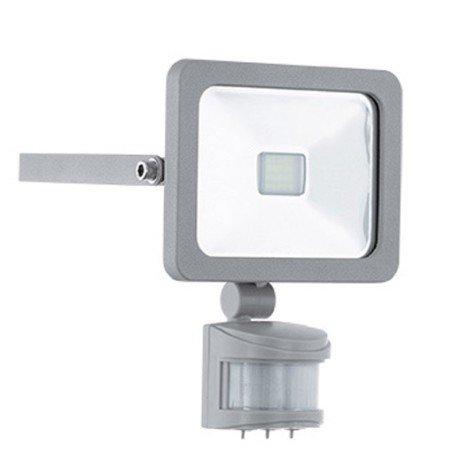 Projecteur à fixer extérieur Slim led LED intégrée = 900 Lm, gris