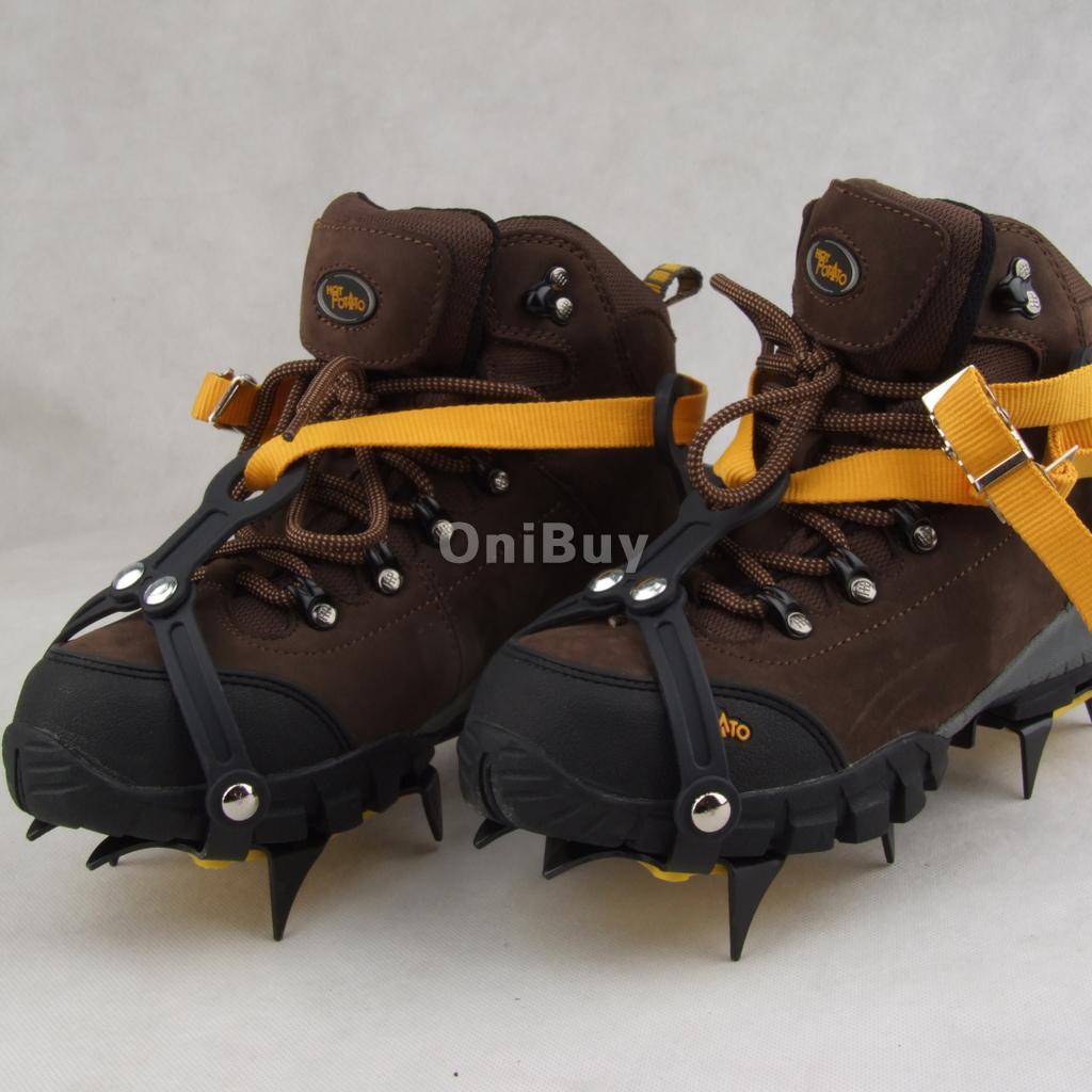 Crampons Reglable Anti dérapant de Chaussure Dans Glace
