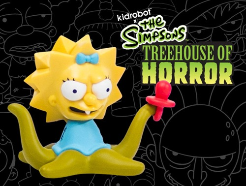 FULL SET X5 Figure KIDROBOT SERIES 3 THOH SIMPSONS FAMILY Treehouse of