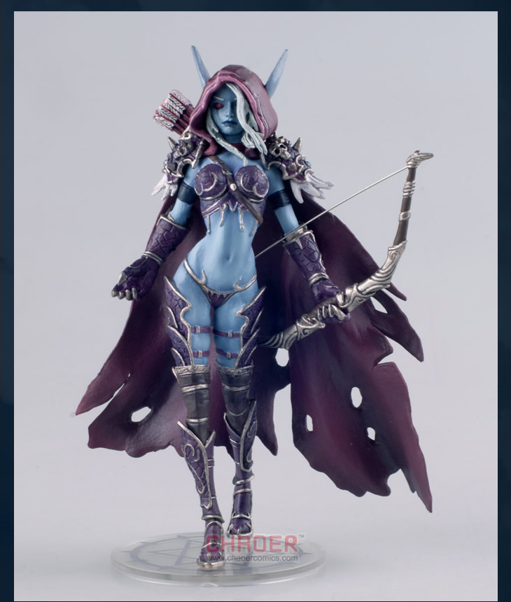 World of Warcraft WOW Forsaken Queen Sylvanas Windrunner Figure GAME