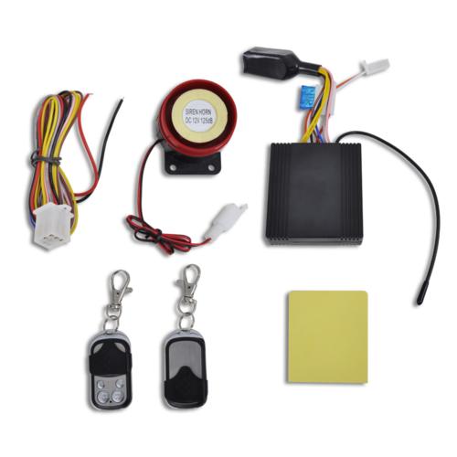 Vidaxl Système d?alarme de moto 12V antivol avec 2