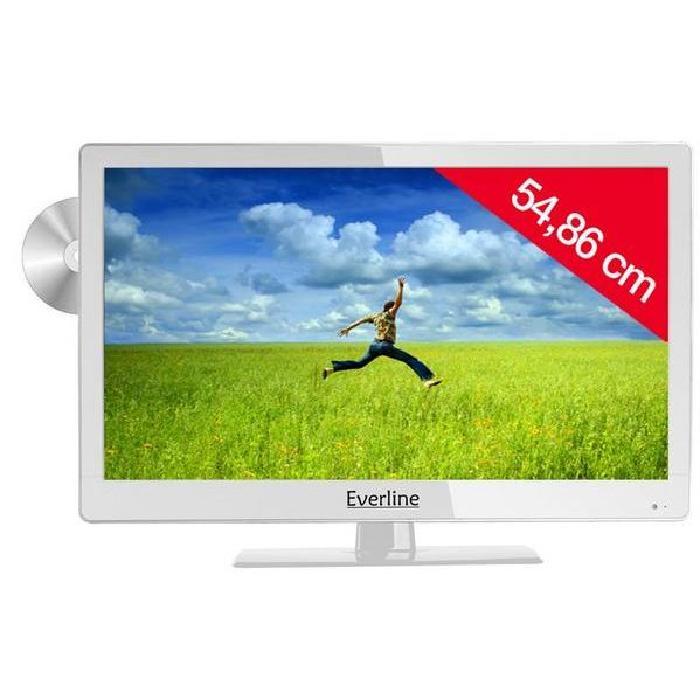 Combo LED DVD 22EVE2C56FC blanc téléviseur combiné, avis et