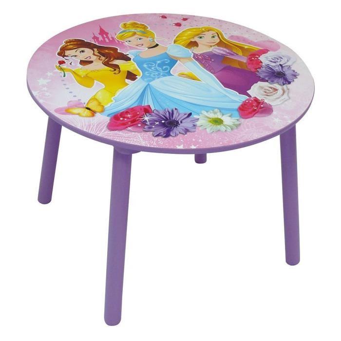 DISNEY PRINCESSES Table Ronde Achat / Vente table jouet d'activité