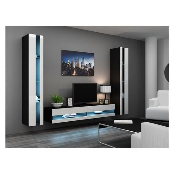 Ensemble meuble tv topiwall for Ensemble mural tv pas cher