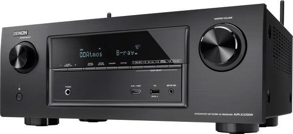sur Ampli Home Denon AVR X3200W 7.2, HDMI WIFI Dolby Atmos et audio HD