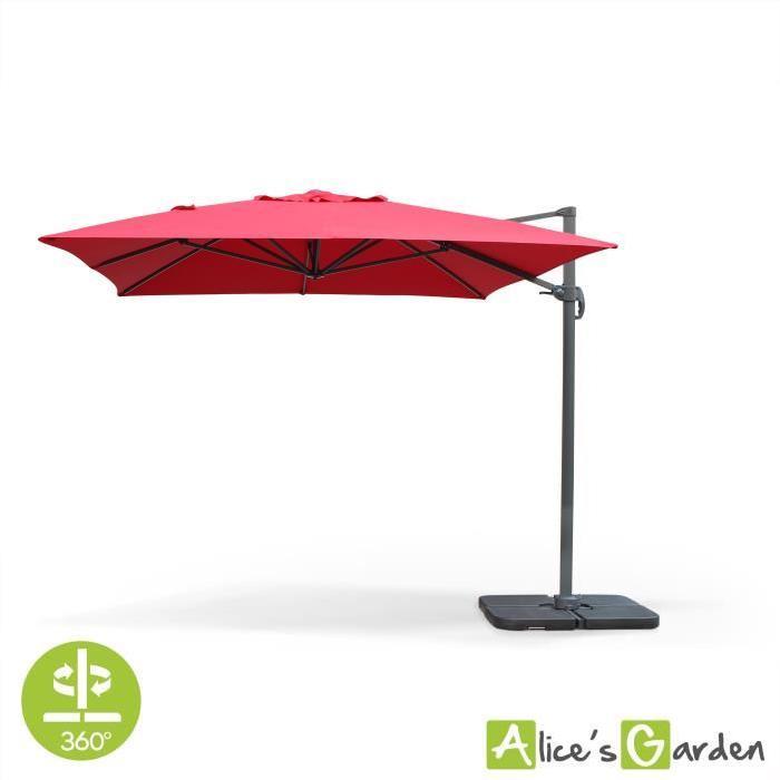 Parasol déporté 3x4m St Jean de Luz Achat / Vente parasol