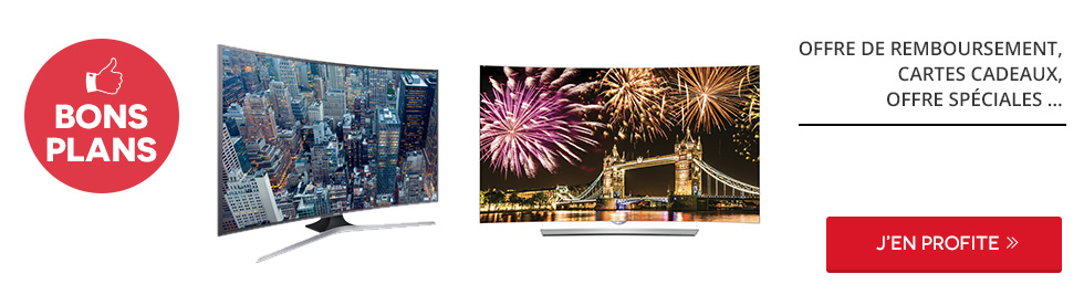 Tout le choix en TV LED : 3D, Smart TV, 4K, Incurvé