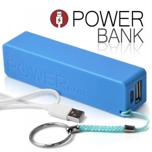Batterie Power Bank Externe mobile 2600mAh Multimédia