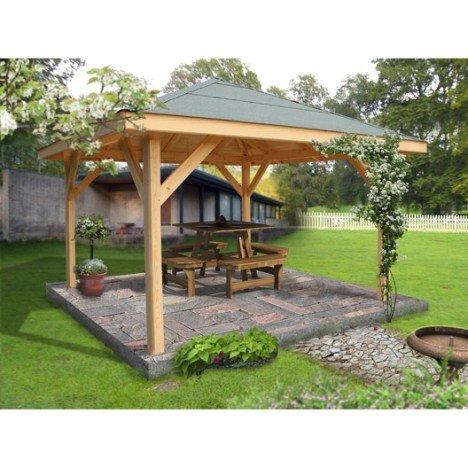 Kiosque bois Villaverde, 11.56 m² |
