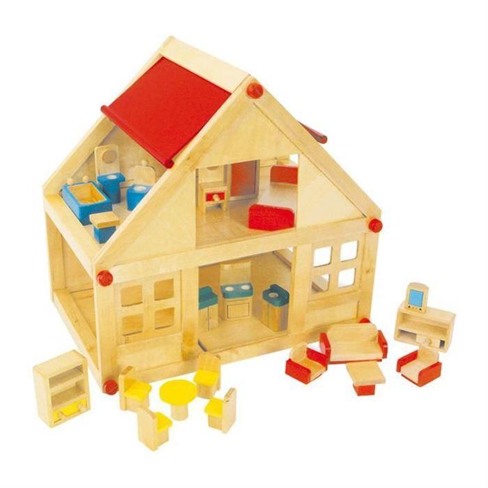 Maison de poupées d?habitation Achat / Vente maison poupee