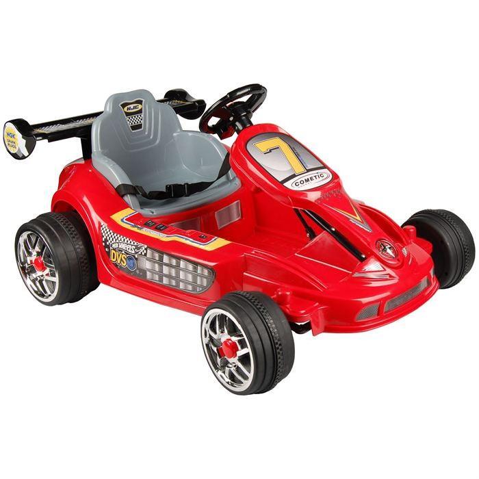 TENDANCE DESIGN Mini Kart Electrique Enfant Rouge Achat